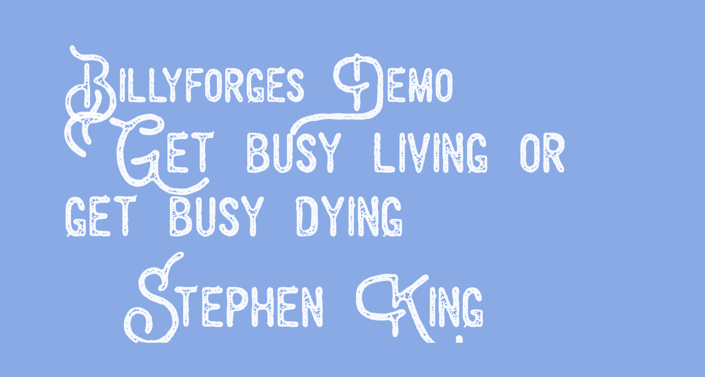 Billyforges Demo