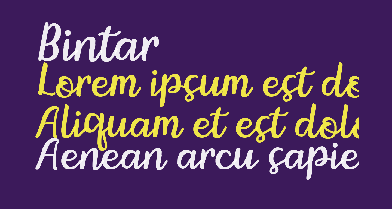 Bintar