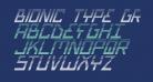 Bionic Type Grad Italic
