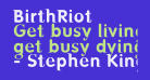 BirthRiot