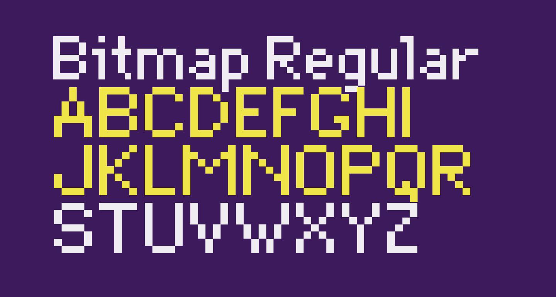 Bitmap Regular