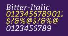 Bitter-Italic