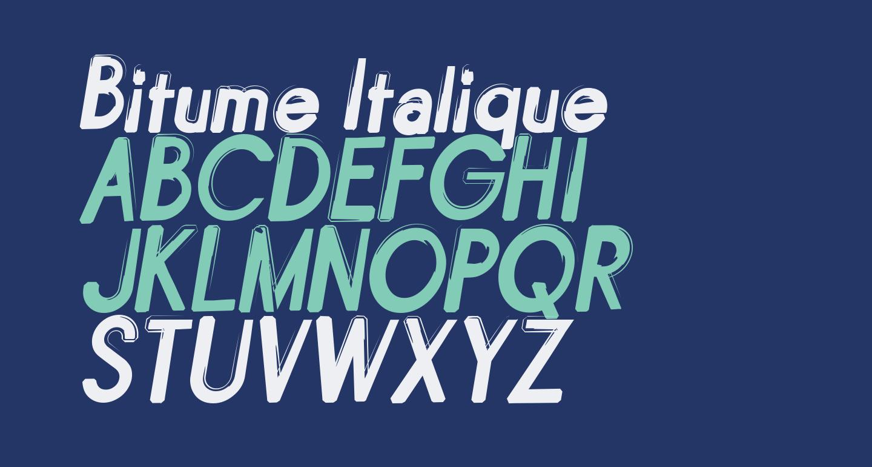 Bitume Italique