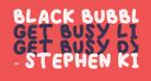 BLACK BUBBLE