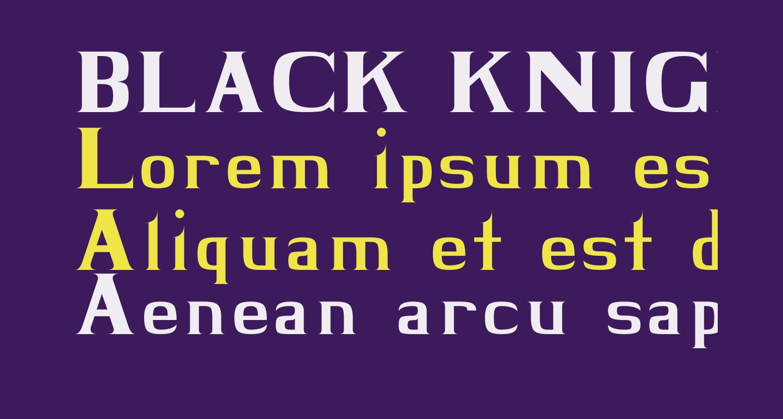 BLACK KNIGHT Regular