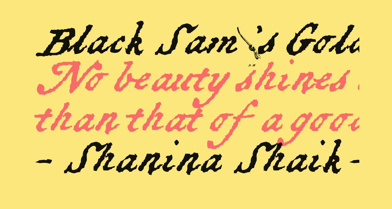 Black Sam's Gold