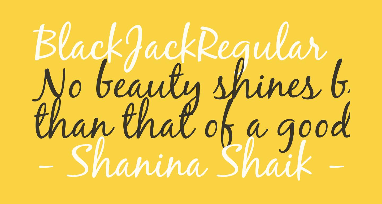 BlackJackRegular