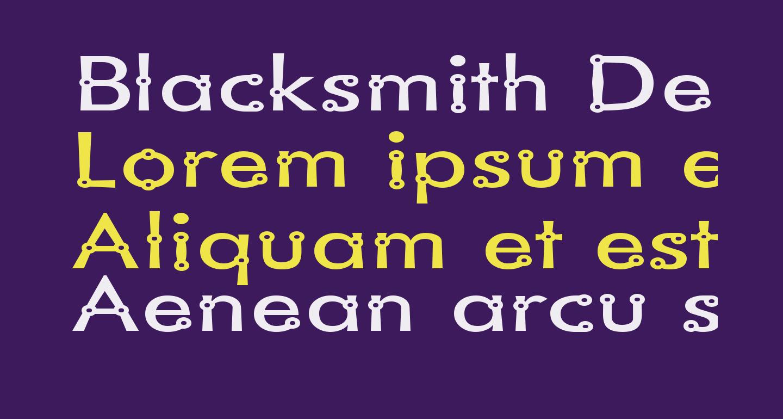 Blacksmith Delight SemiWide