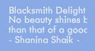 Blacksmith Delight