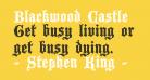 Blackwood Castle