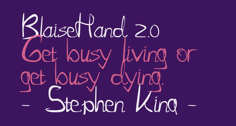 BlaiseHand 2.0