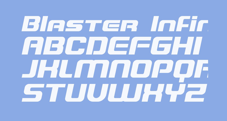Blaster Infinite Italic