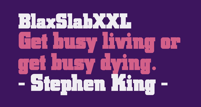 BlaxSlabXXL