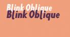 Blink Oblique