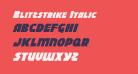 Blitzstrike Italic