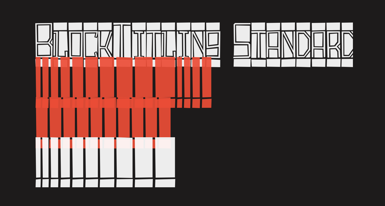 BlockTitling Standard