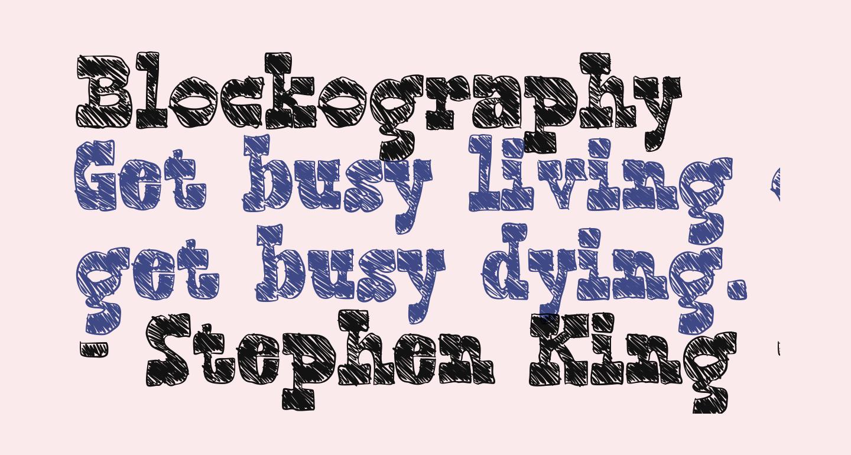 Blockography