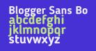 Blogger Sans Bold