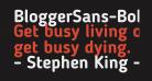 BloggerSans-Bold