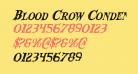 Blood Crow Condensed Italic