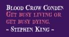 Blood Crow Condensed