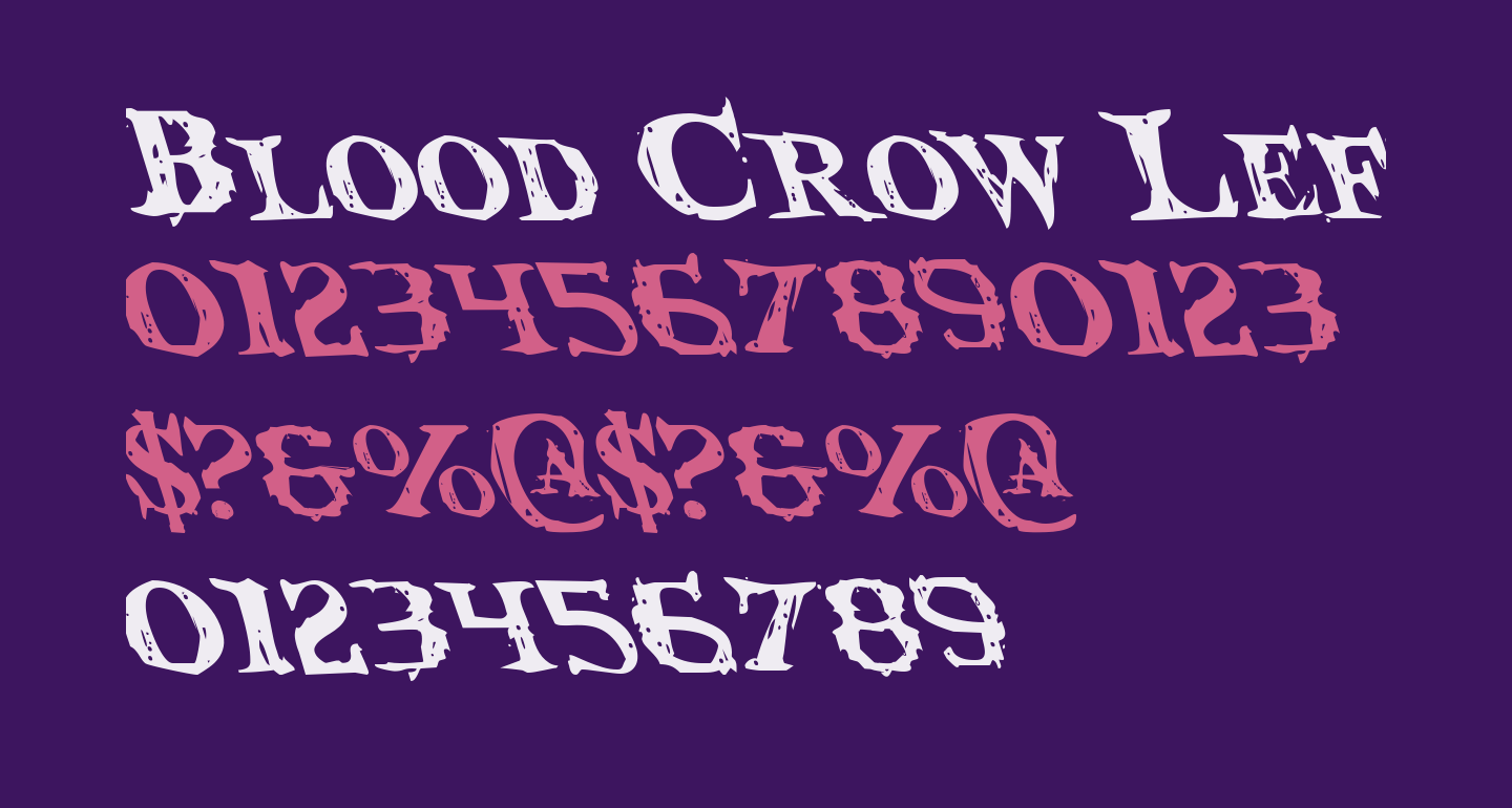 Blood Crow Leftalic