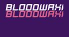 BloodWaxItalic