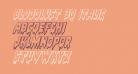 Bloodlust 3D Italic