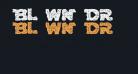 Blown DroidRegular