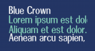 Blue Crown