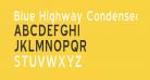 Blue Highway Condensed Regular