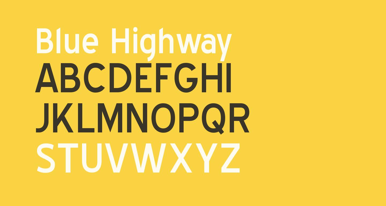 Blue Highway