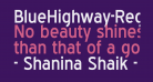 BlueHighway-Regular