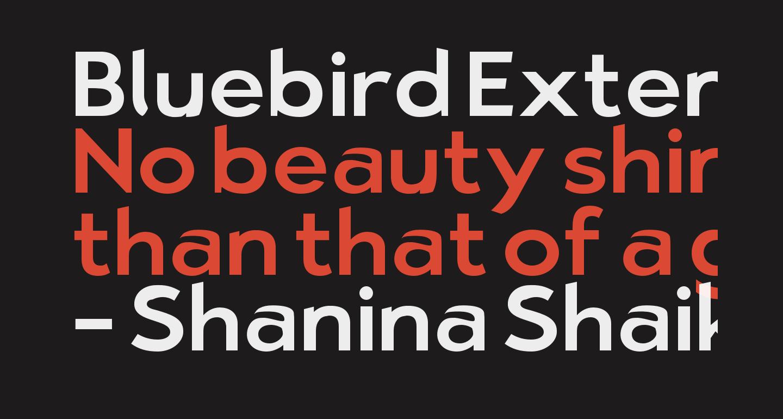 Bluebird Extended