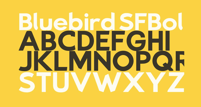 Bluebird SFBold Extended