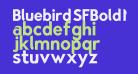 Bluebird SFBold Narrow