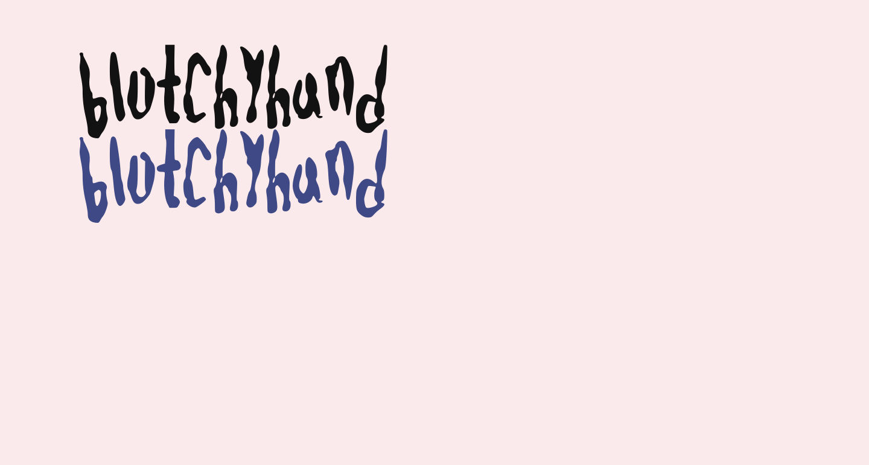 blotchyhand