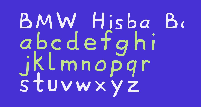 BMW Hisba Bahix
