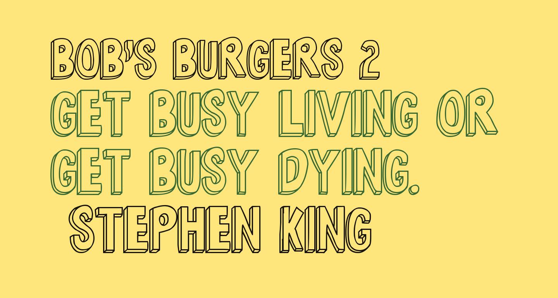 Bob's Burgers 2