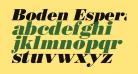 Boden Esperanto Kursiva