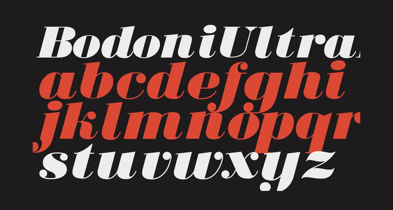 BodoniUltraFLF-Italic