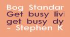 Bog Standard
