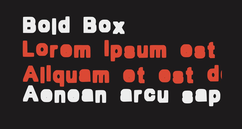 Bold Box