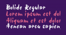 Bolide Regular