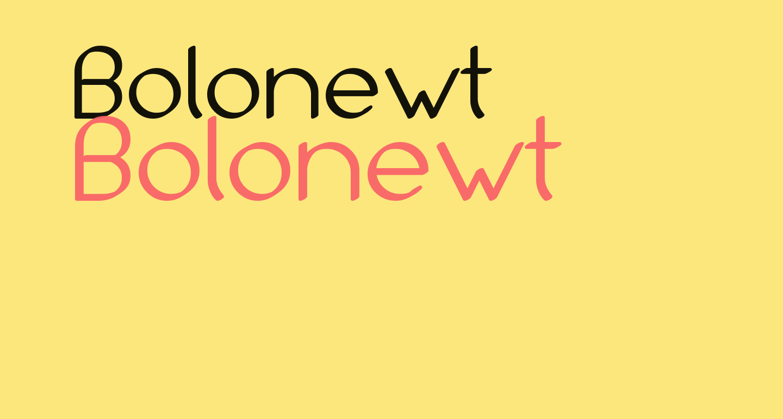 Bolonewt