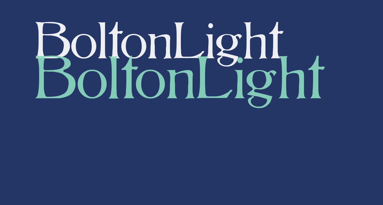 BoltonLight