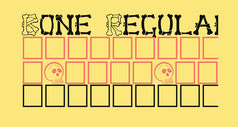 Bone Regular