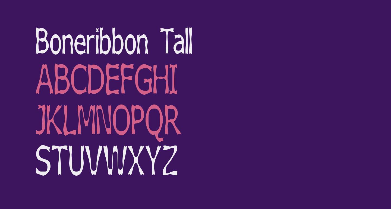 Boneribbon Tall