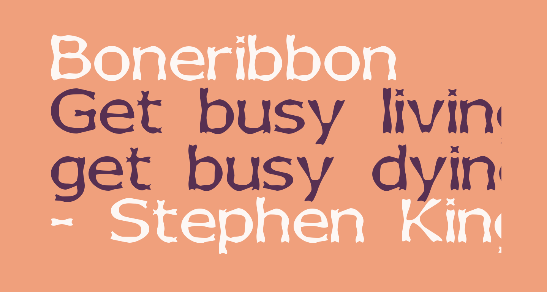 Boneribbon