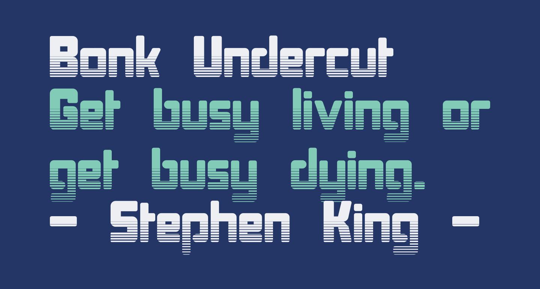 Bonk Undercut